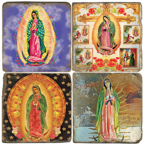 Virgin of Guadalupe III Coaster Set