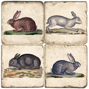 Rabbit Coaster Set