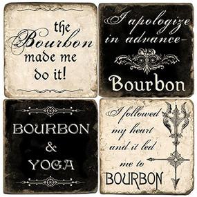 The Bourbon Coaster Set