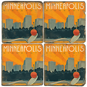 Minneapolis Coaster Set
