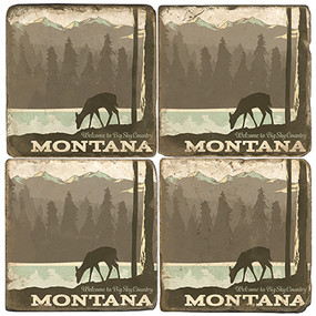Montana Coaster Set
