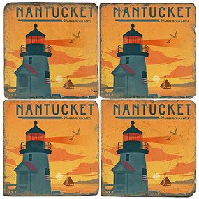 Nantucket Coaster Set