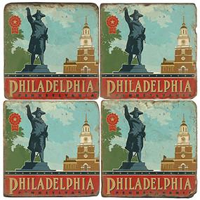 Philadelphia Coaster Set
