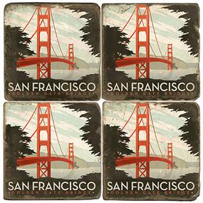 San Francisco Coaster Set