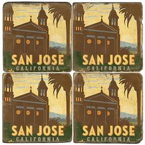 San Jose California Coaster Set