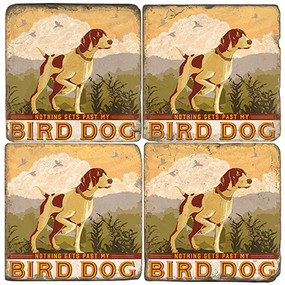 Bird Dog Coaster Set. License artwork by Anderson Design Group.