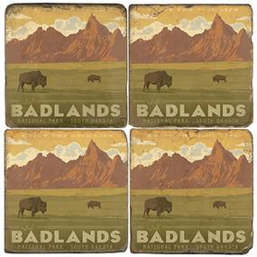 Badlands National Park. License artwork by Anderson Design Group.