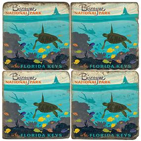 Biscayne National Park. License artwork by Anderson Design Group.