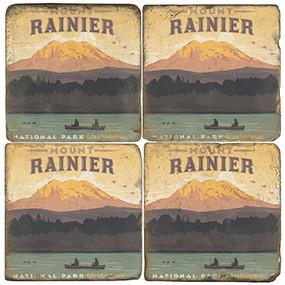 Mount Rainier National Park. License artwork by Anderson Design Group.