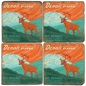 Denali National Park. License artwork by Anderson Design Group.