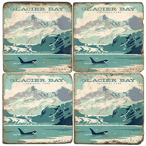 Glacier Bay National Park. License artwork by Anderson Design Group.