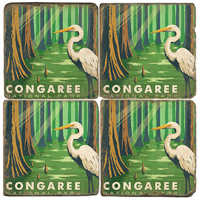 Congaree National Park.License artwork by Anderson Design Group.