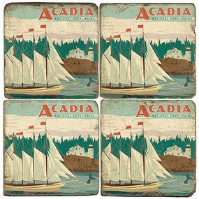 Acadia National Park. License artwork by Anderson Design Group.