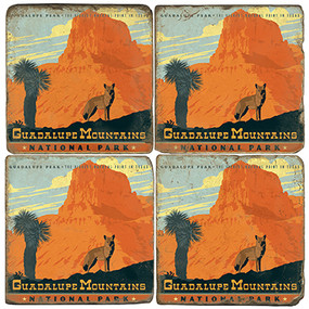 Guadalupe Mountains National Park. License artwork by Anderson Design Group.