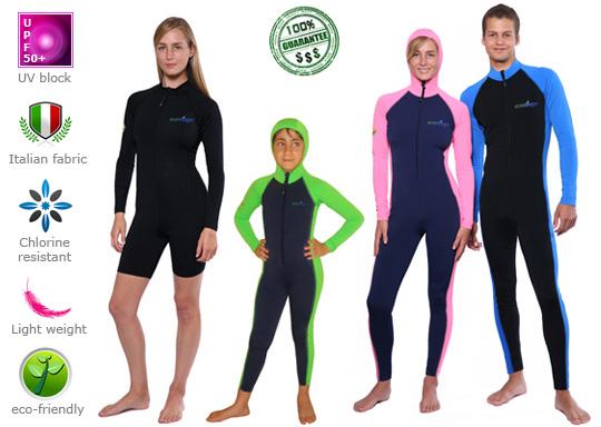 Women Full Body UV Swimsuit