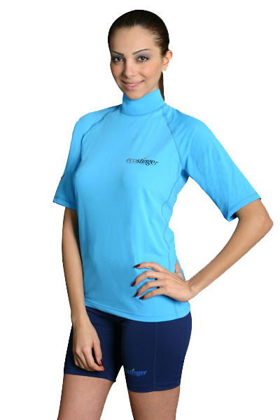 women sun protection clothing rash guard