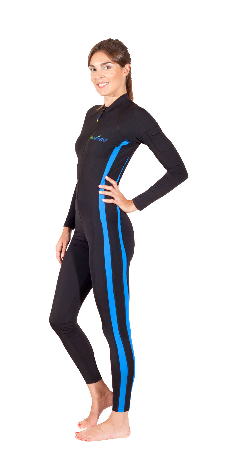 women uv swimsuit long sleeves and legs
