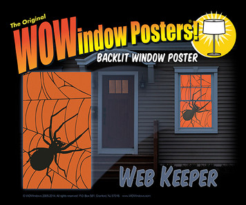 Webkeeper WOWindow Poster as seen in a house