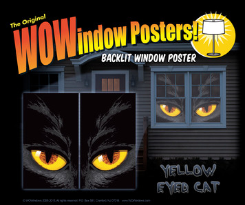 Yellow Eyed Cat Posters as seen in a house