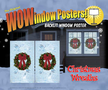 Christmas Wreaths Posters as seen in a house
