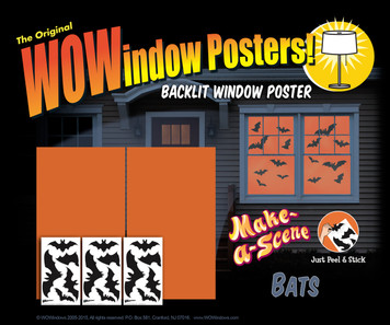 Make a Scene Bats posters as seen in a house