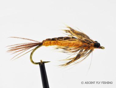 Soft hackle hex nymph ascent fly fishing for Hex bugs fish