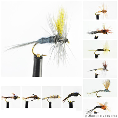 Hendrickson Mayfly Selection