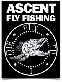 Fly 'Til I Die Sticker