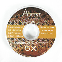 5X GHOST Monofilament Tippet