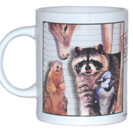 Usual Suspects Mug | Funny Squirrel