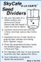 SkyCafe Divider Instructions