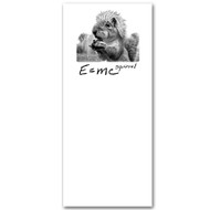 E=mc Squirrel Notepad