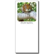 Jaguar Squirrel Notepad