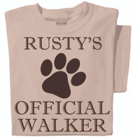 Official Dog Walker t-shirt