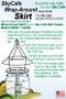 SkyCafe Wrap-Around Skirt Instructions