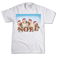 Noel Golden Retrievers T-shirt
