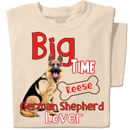 Big Time German Shepherd Lover