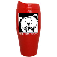 The deer did it.... Tumbler | Travel Mug