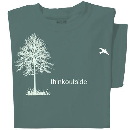 Pure Cotton Tree T-shirt | ThinkOutside