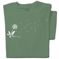 Pure Cotton Dandelion T-shirt | ThinkOutside