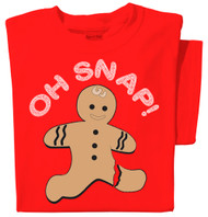 Oh Snap! T-shirt (red)