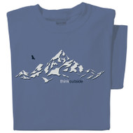 Pure Cotton Mountain T-shirt | ThinkOutside