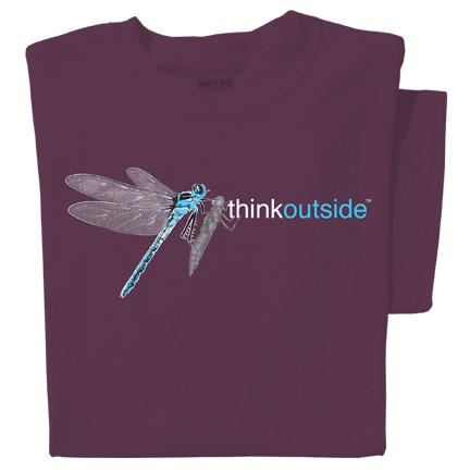 Organic Cotton Dragonfly T-shirt   ThinkOutside