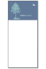 Think Outside Tree Notepad | 50 Sheets | Magnetic