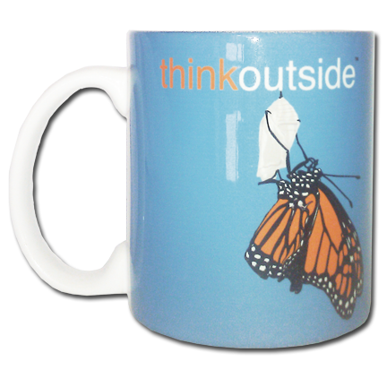 ThinkOutside Monarch Butterfly Mug