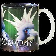 Bad Heron Day Mug | Jim Rathert Photography