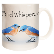 The Bird Whisperer | Bluebird Mug