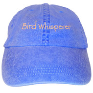 Bird Whisperer Embroidered Cotton Cap