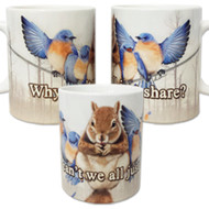Why can't we all just share? Mug