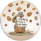 It's OK to be a little Nuts Ceramic Coaster | Front